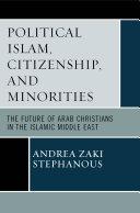 Political Islam, Citizenship, and Minorities Pdf/ePub eBook