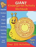 Giant Kindergarten Activity Workbook Book