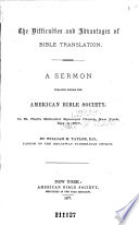Sixtieth Annual Report of the American Bible Society  Presented May 11  1876