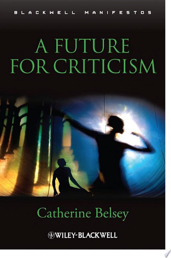 A Future for Criticism