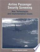 Airline Passenger Security Screening