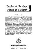 Estudios de sociología