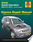 Jeep Grand Cherokee from 2005-2018 Haynes Repair Manual