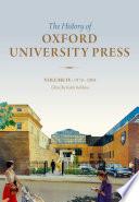History of Oxford University Press: Volume IV