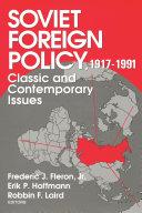 Soviet Foreign Policy 1917-1991 Pdf/ePub eBook
