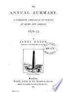 The Annual summary  by J  Mason