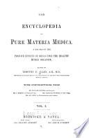 The Encyclopedia of pure materia medica v. 1, 1874