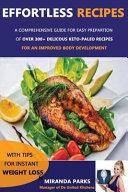 Effortless Recipes Book