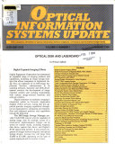 Optical Information Systems Update