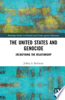The United States and Genocide Book