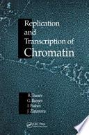 Replication And Transcription Of Chromatin Book PDF