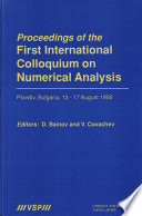 Proceedings of the First International Colloquium on Numerical Analysis Book PDF