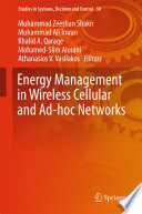 Energy Management in Wireless Cellular and Ad hoc Networks