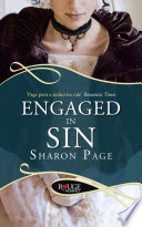 Engaged in Sin  A Rouge Regency Romance Book