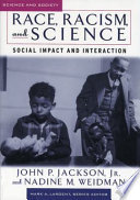 Race  Racism  and Science Book PDF