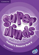 Super Minds American English Level 6 Teacher s Resource Book with Audio CD