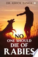 No One Should Die of Rabies