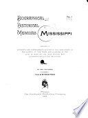 Biographical and Historical Memoirs of Mississippi