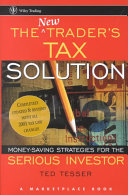 The New Trader s Tax Solution Book