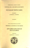 Nuclear Tests Cases