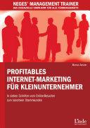 Profitables Internet-Marketing für Kleinunternehmer
