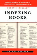 Indexing Books, Second Edition - Seite ii