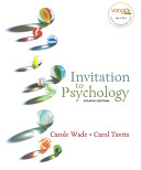 Cover of Invitation to Psychology