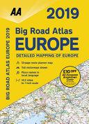 2019 Big Road Atlas Europe