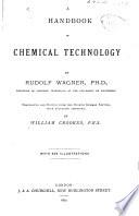 A Handbook Of Chemical Technology Book PDF