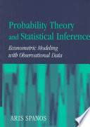 Cover of Probability Theory and Statistical Inference