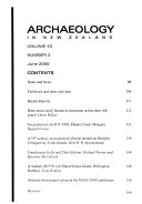 Archaeology In New Zealand Book PDF