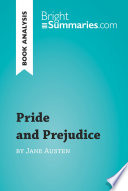 Pride And Prejudice By Jane Austen Book Analysis
