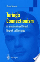 Turing S Connectionism Book PDF