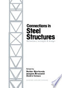 Connections in Steel Structures Book