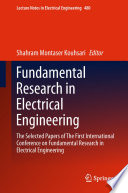 Fundamental Research in Electrical Engineering Book