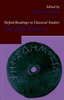 Oxford Readings In The Attic Orators