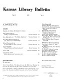 Kansas Library Bulletin
