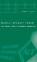 Learning Technology in Transition [Pdf/ePub] eBook