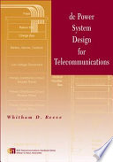DC Power System Design for Telecommunications Book
