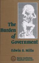 Burden of Government
