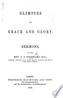 Glimpses of Grace and Glory  Sermons Book