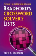 Bradford's Crossword Solver's Lists