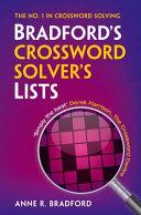 Bradford's Crossword Solver's Lists