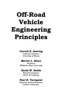 Off road Vehicle Engineering Principles Book