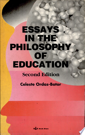 Essays+in+the+Philosophy+of+Education