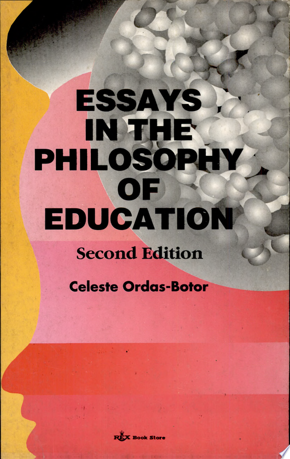 Essays in the Philosophy of Education