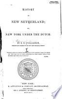 History of New Netherlands