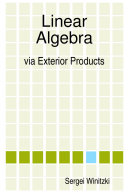 Linear Algebra via Exterior Products