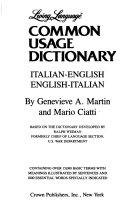 Living Language Common Usage Dictionary