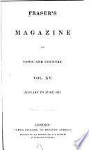 Fraser s Magazine for Town and Country Book